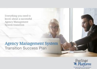 Agency Management System Transition Success Plan