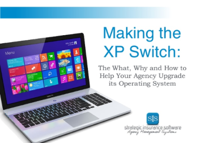 Making the XP Switch